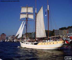 Puzle Grande veleiro