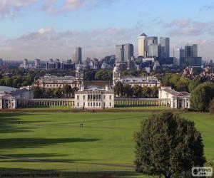 Puzle Greenwich Park, Londres