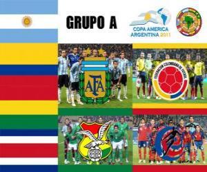 Puzle Grupo A, Argentina 2011