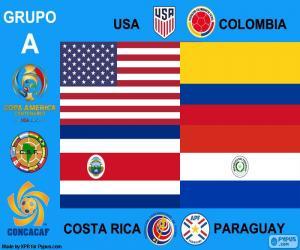 Puzle Grupo A, Copa América centenario