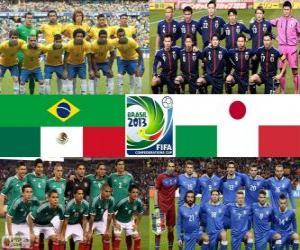 Puzle Grupo A, Copa das Confederações FIFA de 2013