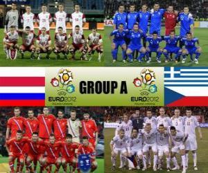 Puzle Grupo A - Euro 2012 -