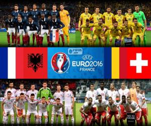 Puzle Grupo A, Euro 2016
