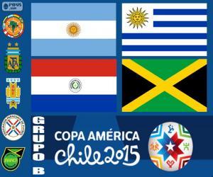 Puzle Grupo B, Copa América 2015