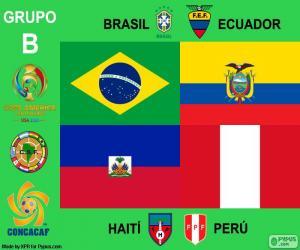 Puzle Grupo B, Copa América Centenario