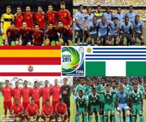 Puzle Grupo B, Copa das Confederações FIFA de 2013