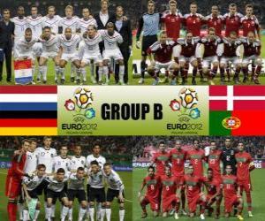 Puzle Grupo B - Euro 2012-