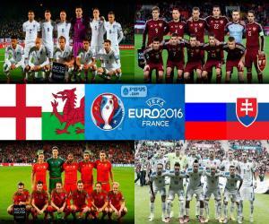 Puzle Grupo B, Euro 2016