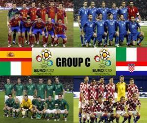 Puzle Grupo C - Euro 2012-