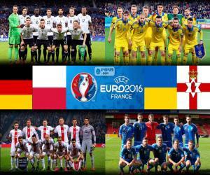 Puzle Grupo C, Euro 2016