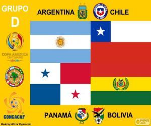 Puzle Grupo D, Copa América centenario
