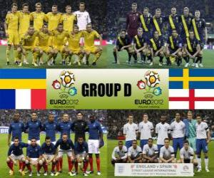 Puzle Grupo D - Euro 2012-