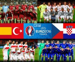 Puzle Grupo D, Euro 2016