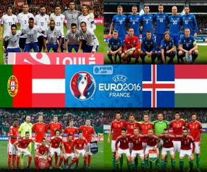 Puzle Grupo F, Euro 2016