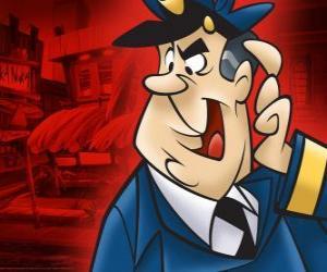 Puzle Guarda Belo, o policial que cuida do beco de Manda-Chuva e sua gangue