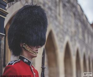 Puzle Guarda da Rainha, Londres