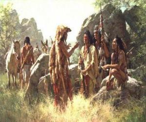 Puzle Guerreiros índios