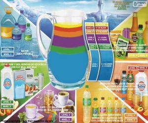 Puzle Guia de bebidas saudáveis