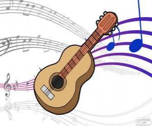 Puzle Guitarra clássica