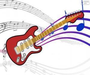 Puzle Guitarra elétrica