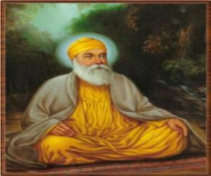 Puzle Guru Nanak Dev, fundador do Sikhismo