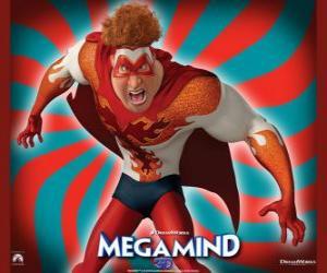 Puzle Hal Steward tornou-se um novo super-herói, Titan