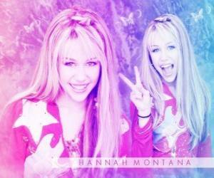 Puzle Hannah Montana