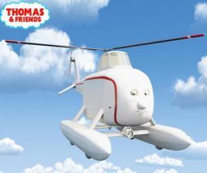Puzle Harold é um helicóptero muito bondoso e de bom coração