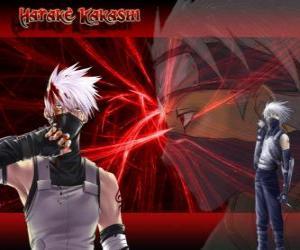 Puzle Hatake Kakashi, mestre de ninjas