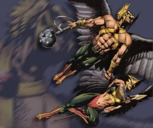Puzle Hawkman ou Hawkgirl