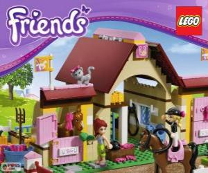 Puzle Heartlake Stables de Lego Friends