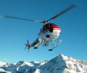 Puzle Helicóptero de salvamento