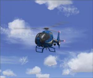 Puzle Helicóptero pequeno