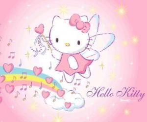 Puzle Hello Kitty a fada