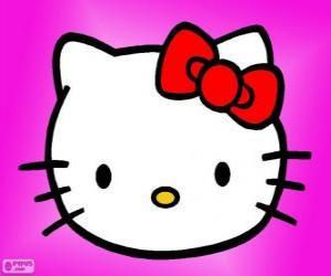 Puzle Hello Kitty feliz