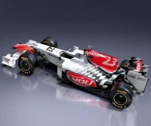 Puzle Hispania F111 - 2011 -