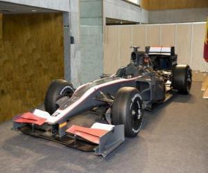 Puzle Hispania Racing Team F1 (HRT F1)