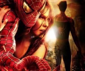 Puzle Homem-Aranha com Mary Jane