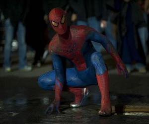 Puzle Homem-aranha nas ruas de Nova York