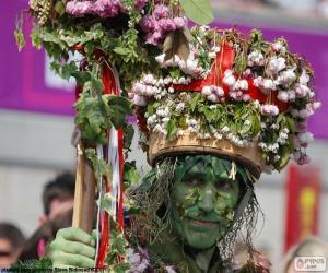 Puzle Homem verde, Carnaval