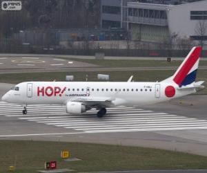 Puzle Hop! uma companhia aérea de baixo custo francesa