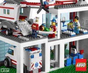 Puzle Hospital de Lego