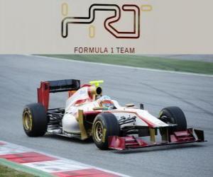 Puzle HRT F112 - 2012 -