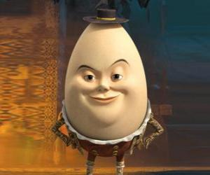 Puzle Humpty Dumpty, velho amigo do Gato das Botas