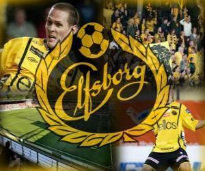 Puzle IF Elfsborg clube de futebol sueco