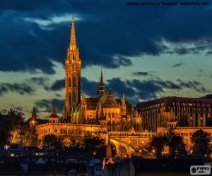 Puzle Igreja de Matthias, Hungria