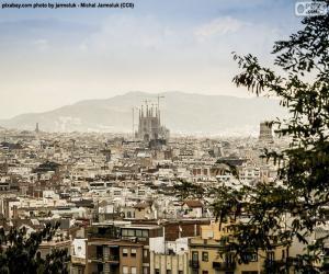 Puzle Imagem de Barcelona