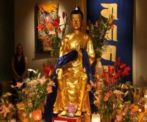 Puzle Imagem de Buda