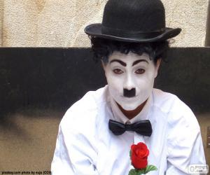 Puzle Imitador de Charlie Chaplin