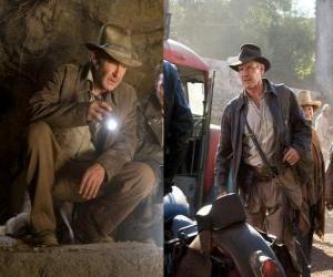 Puzle Indiana Jones é um dos aventureiros mais famosos do mundo